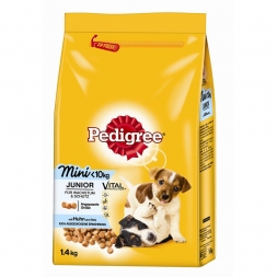 Pedigree Trocken Junior Mini Huhn & Reis 1,4kg