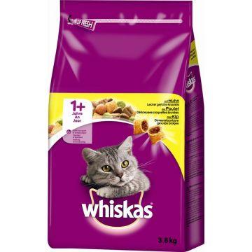 Whiskas Trocken Adult 1+ mit Huhn 3,8kg