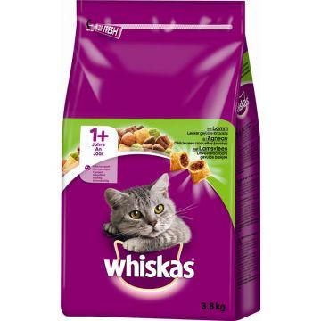 Whiskas Trocken Adult 1+ mit Lamm 3,8kg