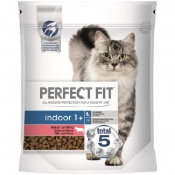 Perfect Fit Cat Indoor 1+ reich an Rind 750g