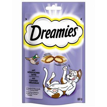 Dreamies Cat mit Ente 60g (Menge: 6 je Bestelleinheit)