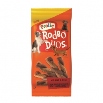 Frolic Snack Rodeo Duos mit Rind & Käse 7 Stück (Menge: 10 je Bestelleinheit)