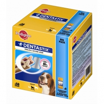 Pedigree Denta Stix Multipack mittelgroße Hunde 56er