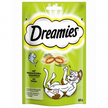 Dreamies mit Thunfisch 60g (Menge: 6 je Bestelleinheit)