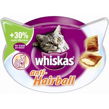 Whiskas Snack Anti- Hairball 60g (Menge: 8 je Bestelleinheit)