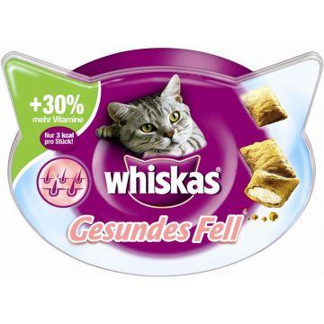 Whiskas Snack Gesundes Fell 50g (Menge: 8 je Bestelleinheit)