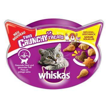 Whiskas Snack Trio Crunchy Huhn 55g (Menge: 8 je Bestelleinheit)