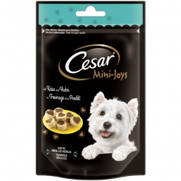 Cesar Snack Mini-Joys mit Käse und Huhn 100g (Menge: 6 je Bestelleinheit)