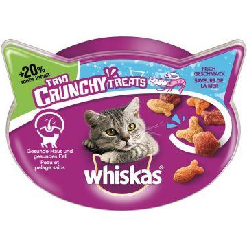 Whiskas Snack Trio Crunchy Treats mit Fischgeschmack 66g (Menge: 6 je Bestelleinheit)
