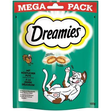 Dreamies Cat Snack mit Pute 180g Mega Pack (Menge: 4 je Bestelleinheit)