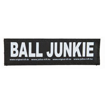 2 Julius-K9 Klettsticker BALL JUNKIE