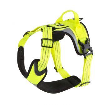Hurtta Dazzle Hundegeschirr Gelb, 60-80 cm