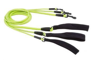 Hurtta Dazzle Seil-Leine gelb, 150cm*11mm