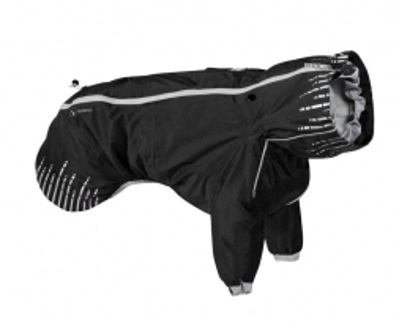 Hurtta Rain Blocker Regenmantel schwarz, 30 cm