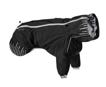 Hurtta Rain Blocker Regenmantel schwarz, 55 cm