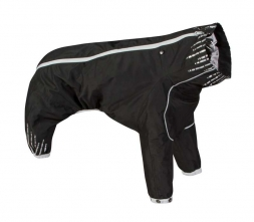 Hurtta Downpour suit, schwarz 40 L