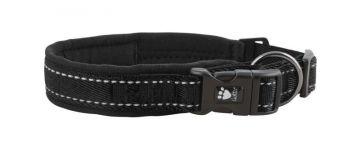 Hurtta Casual Halsband schwarz, 45-55 cm