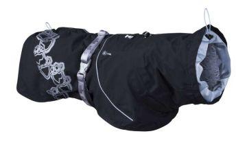 Hurtta Drizzle Mantel schwarz, 45 cm