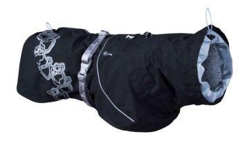 Hurtta Drizzle Mantel schwarz, 55 cm