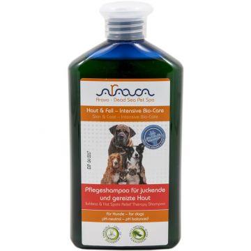 Arava Hunde Pflegeshampoo für juckende und gereizte Haut 400 ml