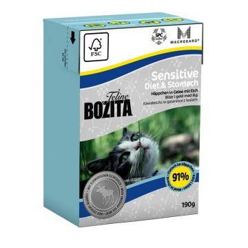 Bozita Cat Tetra Recard Diet & Stomach - Sensitve 190g (Menge: 16 je Bestelleinheit)