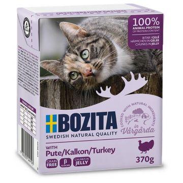 Bozita Cat Tetra Recard Häppchen in Gelee Pute 370g (Menge: 16 je Bestelleinheit)