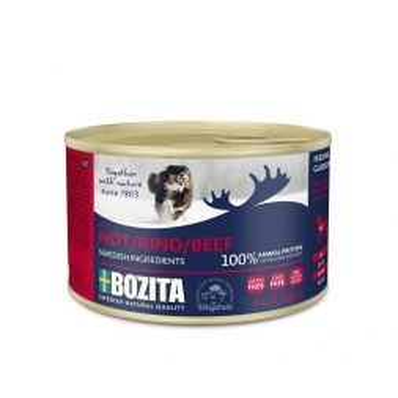 Bozita Dog Dose Paté Rind 200g (Menge: 20 je Bestelleinheit)