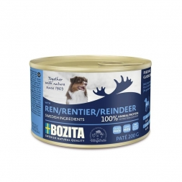 Bozita Dog Dose Paté Rentier 200g (Menge: 20 je Bestelleinheit)