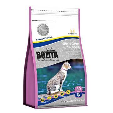 Bozita Cat Hair & Skin - Sensitive 400g