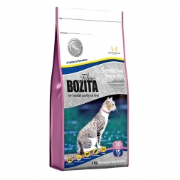 Bozita Cat Hair & Skin - Sensitive 2kg