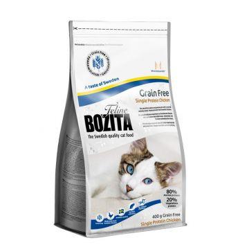 Bozita Cat Grain Free Chicken 400g