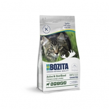 Bozita Active & Sterilised Grain free Lamb 400g