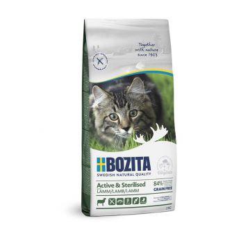 Bozita Active & Sterilised Grain free Lamb 2kg