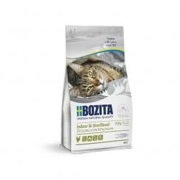 Bozita Indoor & Sterilised Chicken 400g