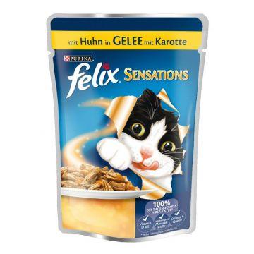 Fel. P.B. Sensations Huhn Gelee Karotte 100g (Menge: 20 je Bestelleinheit)