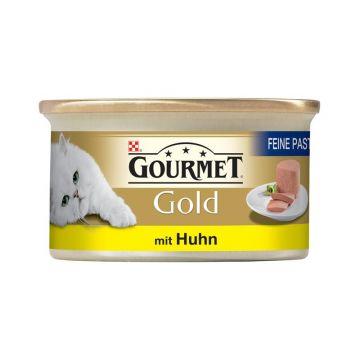 Gourmet Gold Feine Pastete Huhn 85g (Menge: 12 je Bestelleinheit)