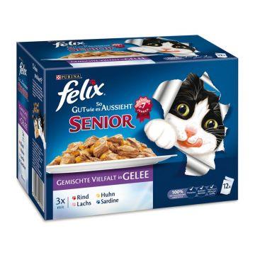 Felix Multipack So gut wie es ausssieht - Senior 12x100g (Menge: 6 je Bestelleinheit)