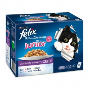 Felix Multipack So gut wie es ausssieht - Junior 12x100g (Menge: 6 je Bestelleinheit)