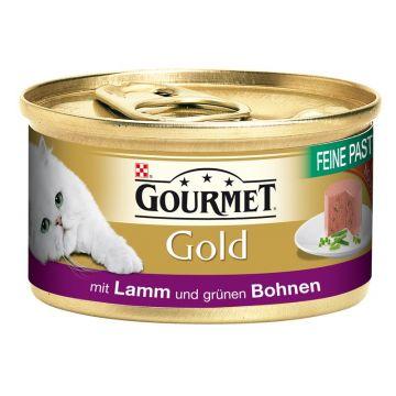 Gourmet Gold Feine Pastete Lamm & Bohnen 85g (Menge: 12 je Bestelleinheit)