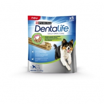 Purina DentaLife Dog Medium 115g (Menge: 5 je Bestelleinheit)