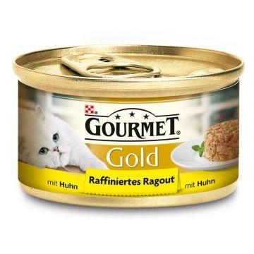 Gourmet Gold Raffiniertes Ragout Huhn 85g (Menge: 12 je Bestelleinheit)