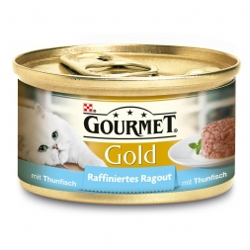 Gourmet Gold Raffiniertes Ragout mit Thunfisch 85g (Menge: 12 je Bestelleinheit)