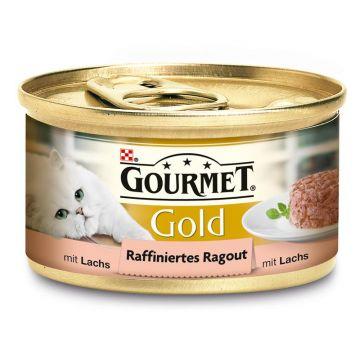 Gourmet Gold Raffiniertes Ragout mit Lachs 85g (Menge: 12 je Bestelleinheit)