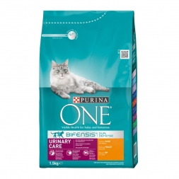 Purina ONE BIFENSIS Urinary Care reich an Huhn 1,5kg