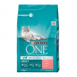 Purina ONE BIFENSIS Adult reich an Lachs 1,5kg