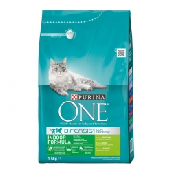 Purina ONE BIFENSIS Indoor reich an Truthahn 1,5kg
