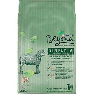 Beyond Dog Simply 9 Lamm 3 kg