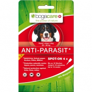 Bogacare Anti-Parasit Hund groß 4x2,5ml