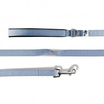 Curli Basic Leine Nylon 140x2cm Skyblue