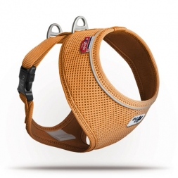 Curli Basic Geschirr Air-Mesh Orange S